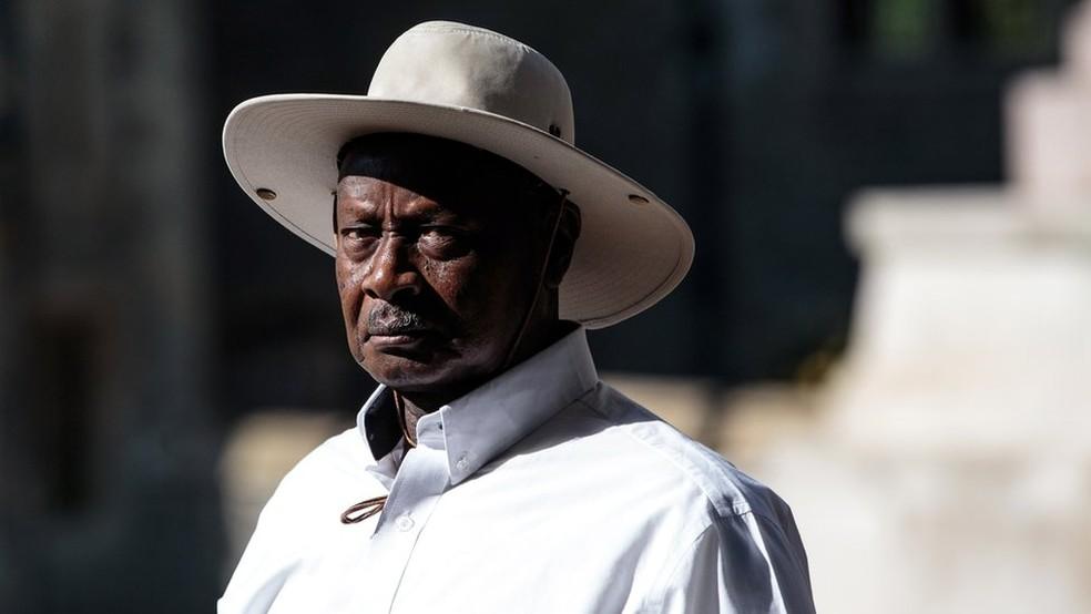 Yoweri Museveni, presidente de Uganda (Foto: AFP)