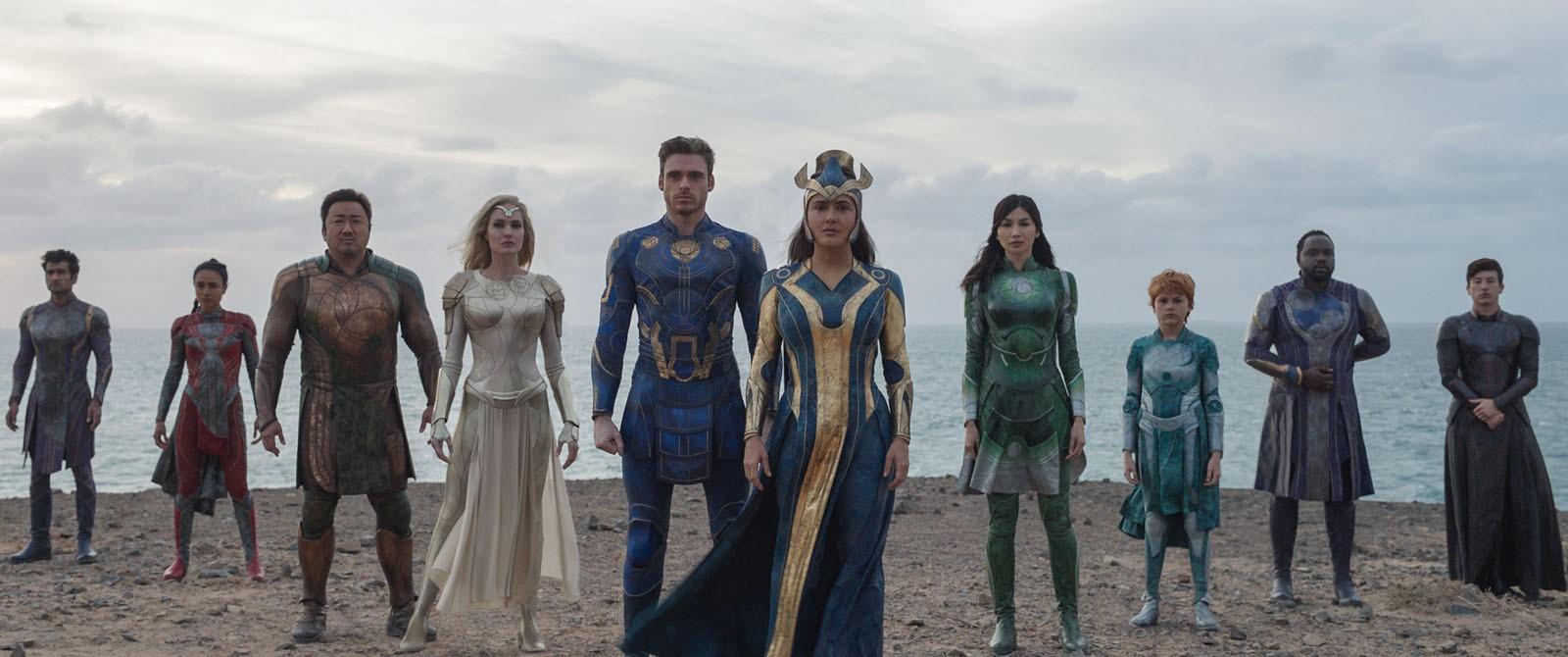 Em 'Eternos', Chloé Zhao faz o filme mais bonito e autoral da Marvel; G1 já viu