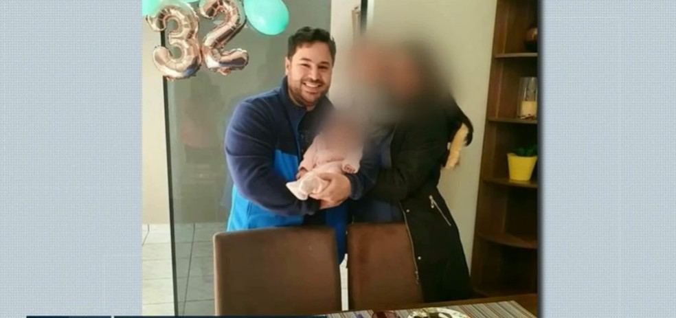 Lucas trabalhava em um hospital de Ivaiporã, no norte do Paraná  — Foto: Reprodução/EPTV