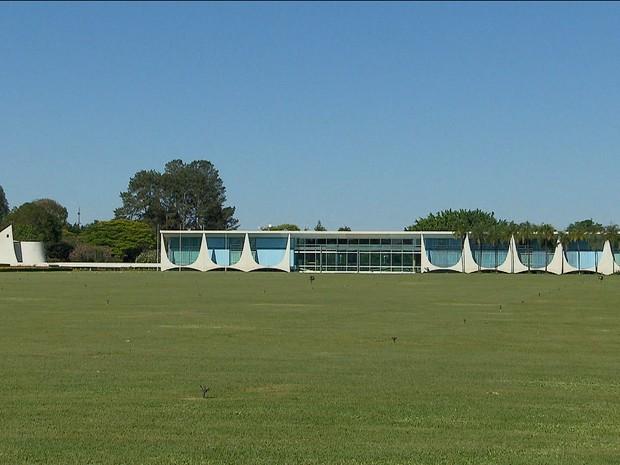 Palácio da Alvorada/GNews (Foto: Reprodução GloboNews)