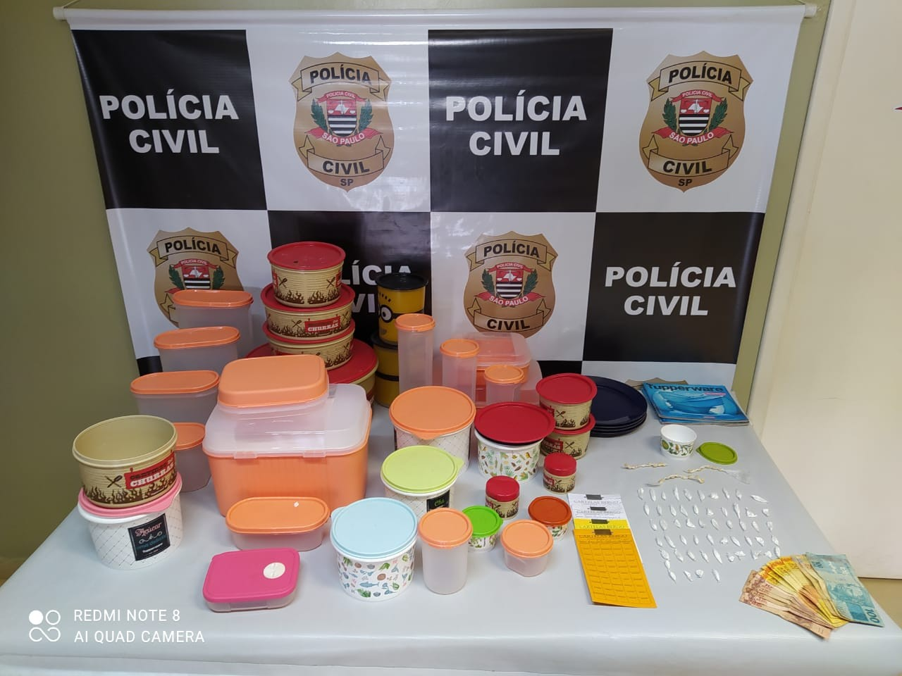 Foragido da Justiça é recapturado com drogas e encomenda desviada de quase R$ 4 mil