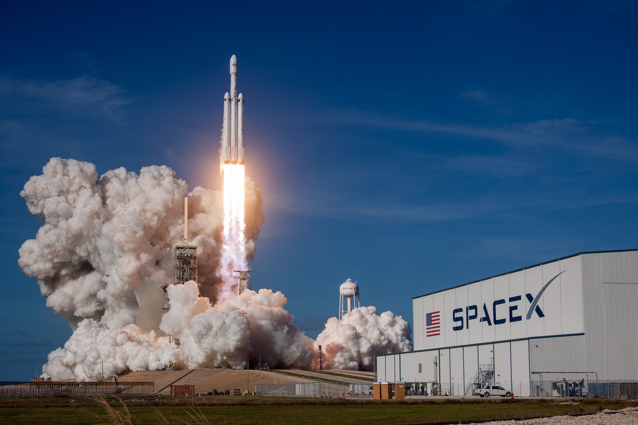 Missão Falcon Heavy Demo da SpaceX (Foto: Flickr/Official SpaceX Photos/Creative Commons)