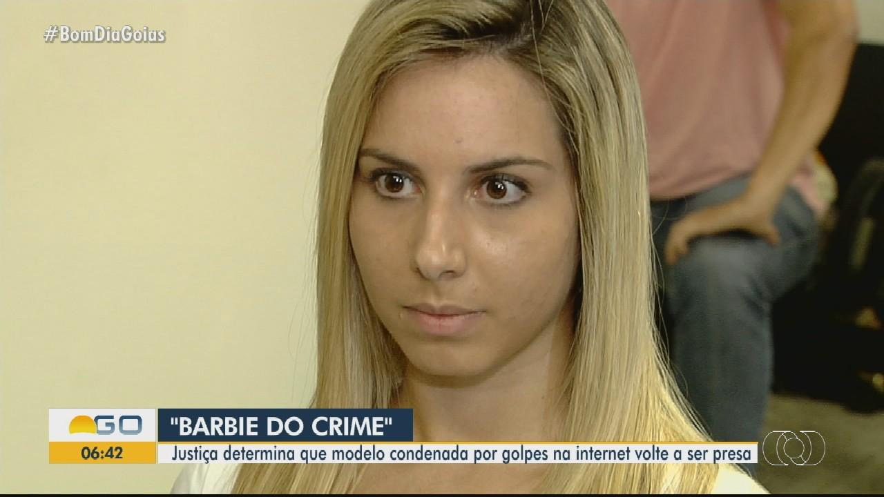 Justiça manda prender 'Barbie do crime', em Goiânia