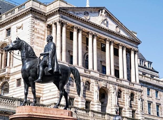 Banco da Inglaterra, em Londres (Foto: Royal Parks UK/ Reprodução)