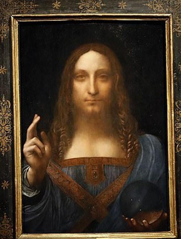 Paradeiro de 'Salvador Mundi', de Leonardo da Vinci, é revelado (Foto: Reprodução)