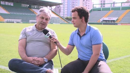 Gilson Kleina explica especulações de Botafogo e Fluminense na Copa e diz que quer cumprir contrato na Chape