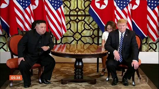 Encontro entre Donald Trump e Kim Jong-un no Vietnã termina sem acordo