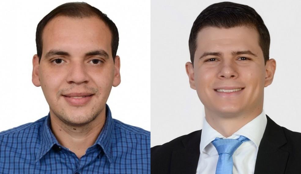 Luis Fernando e Héctor foram eleitos prefeito — Foto: Montagem G1