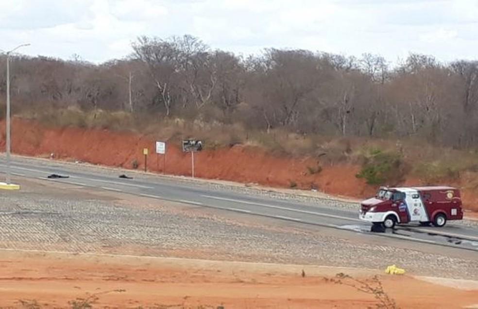 Parte do bando morreu durante troca de tiro com policiais no interior do Ceará — Foto: Arquivo pessoal