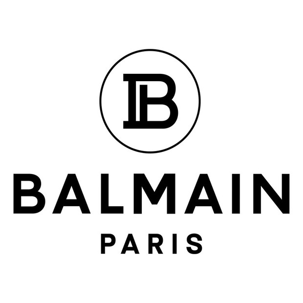 A nova logo da Balmain (Foto: Divulgação)
