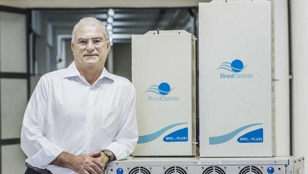 Samy Menasce, da Brasil Ozônio – startup da Incubadora USP/Ipen-Cietec. (Foto: Divulgação)