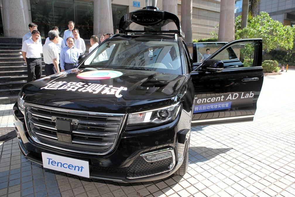 Tencent recebeu aval para testar carro autônomo na China (Foto: Zhao Yanxiong/Southern Metropolis Daily via Reuters)