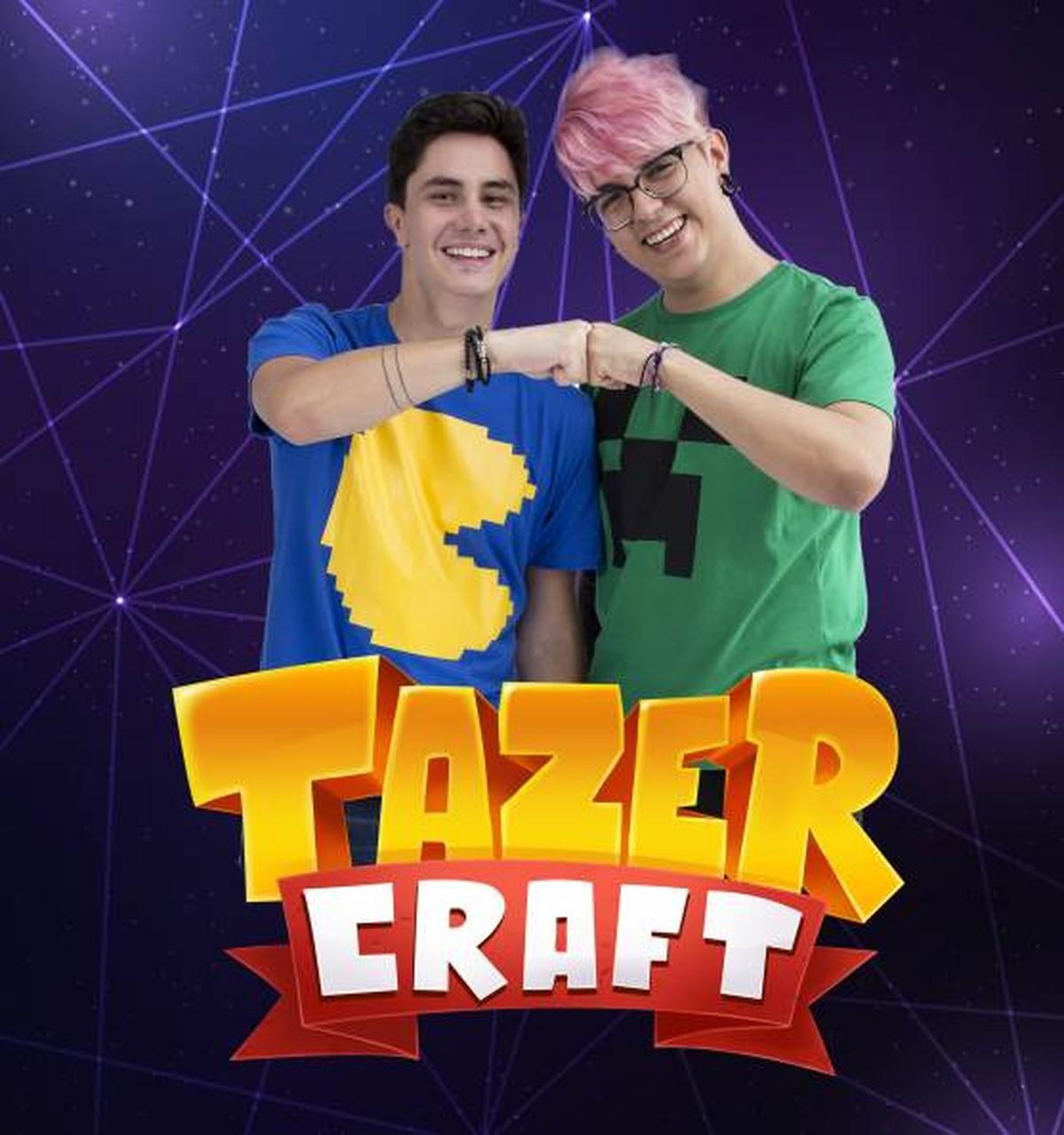 Evento 'TazerCraft Party' será realizado em centro de compras de Caruaru