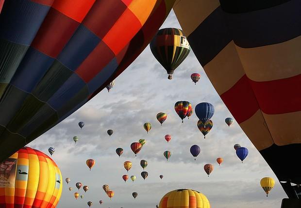 Albuquerque: una de las atracciones es un paseo en globo (Foto: Christian Petersen / Getty Images)