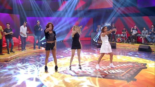 Time feminino do 'Desafiados' faz performance das Spice Girls