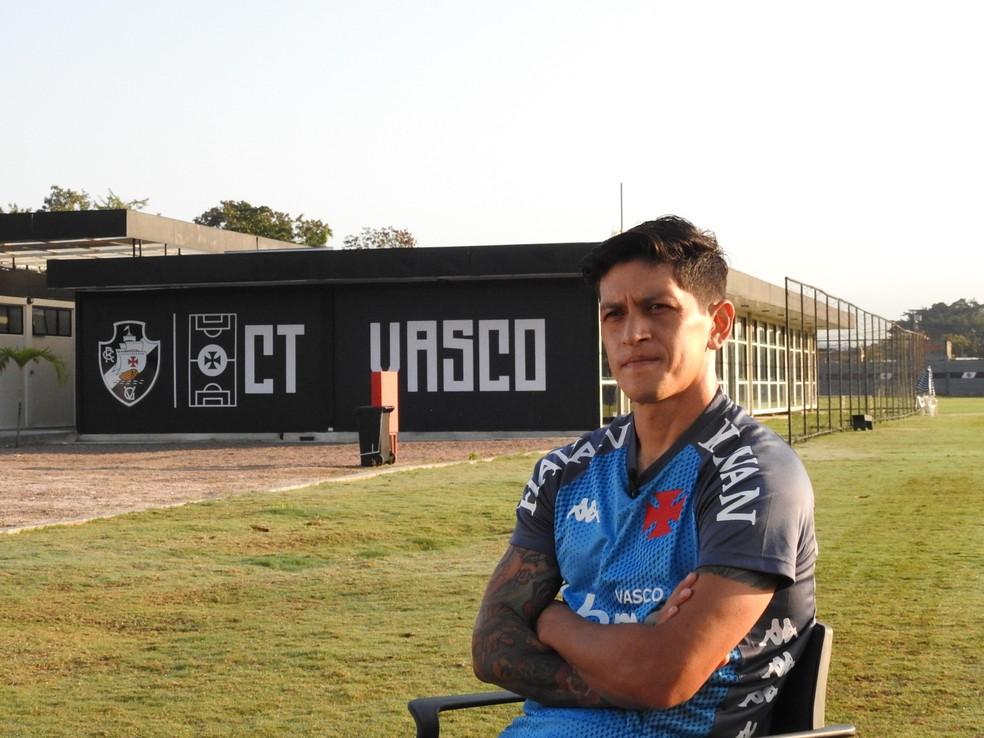Cano, especial, Vasco — Foto: Fred Gomes
