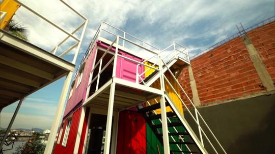Nas novas formas de morar, conheça as casas containers
