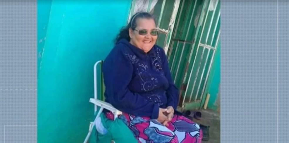 Maria Rosa tinha 61 anos e estava internada no Hospital Municipal de Foz do Iguaçu — Foto: Reprodução/RPC