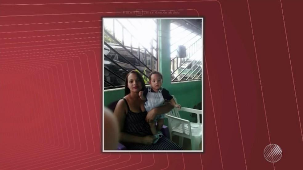 -  Bebê Weslei Silva Ribeiro morava em Camacan  Foto: Reprodução/TV Santa Cruz