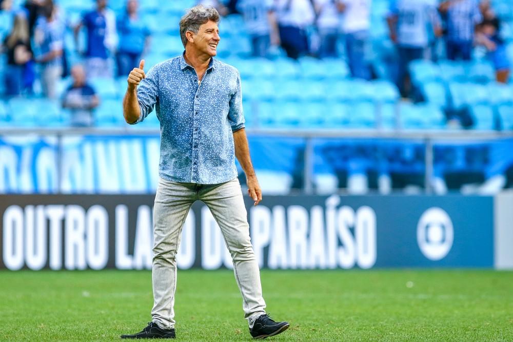 Renato Portaluppi renova com o Grêmio para 2018