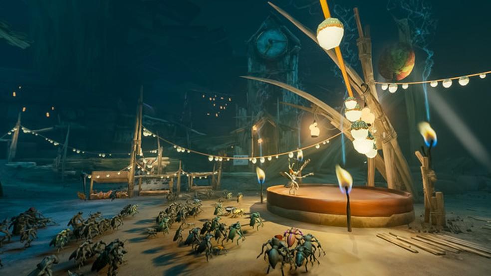 Em Metamorphosis o jogador precisa descobrir o mistério por trás de sua transformação em um inseto — Foto: Reprodução/Steam