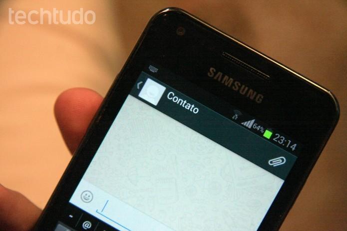 Como apagar diversas mensagens de uma só vez no WhatsApp para Android? (Foto: Luciana Maline/TechTudo)