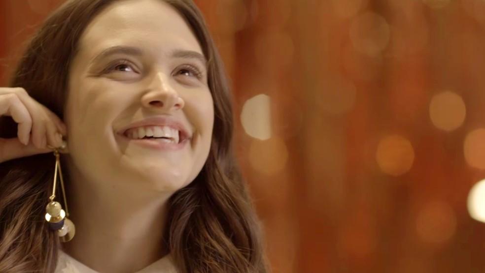 Será possível ela ficar ainda mais linda? (Foto: TV Globo)
