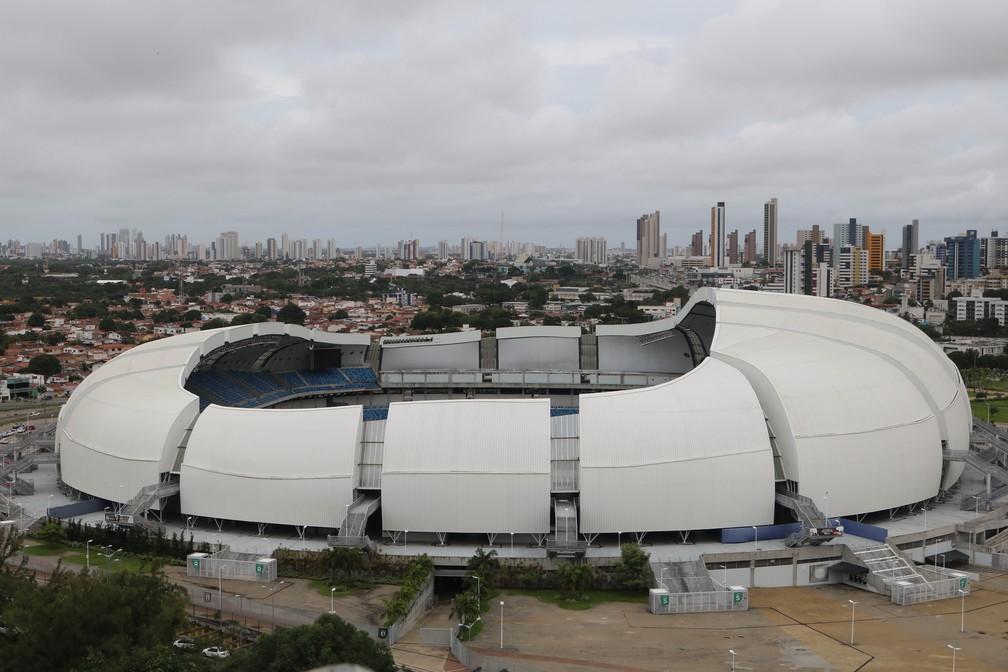 Arena das Dunas foi construída para a Copa do Mundo de 2014 (Arquivo) — Foto: Augusto César Gomes
