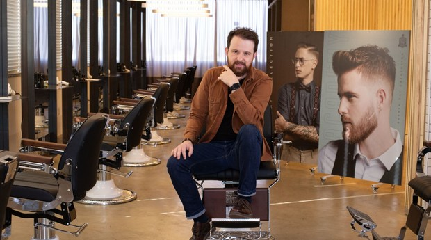 A barbearia Seu Elias já possuí 4 unidades espalhadas pela capital mineira.  (Foto: Eudes de Jesus)