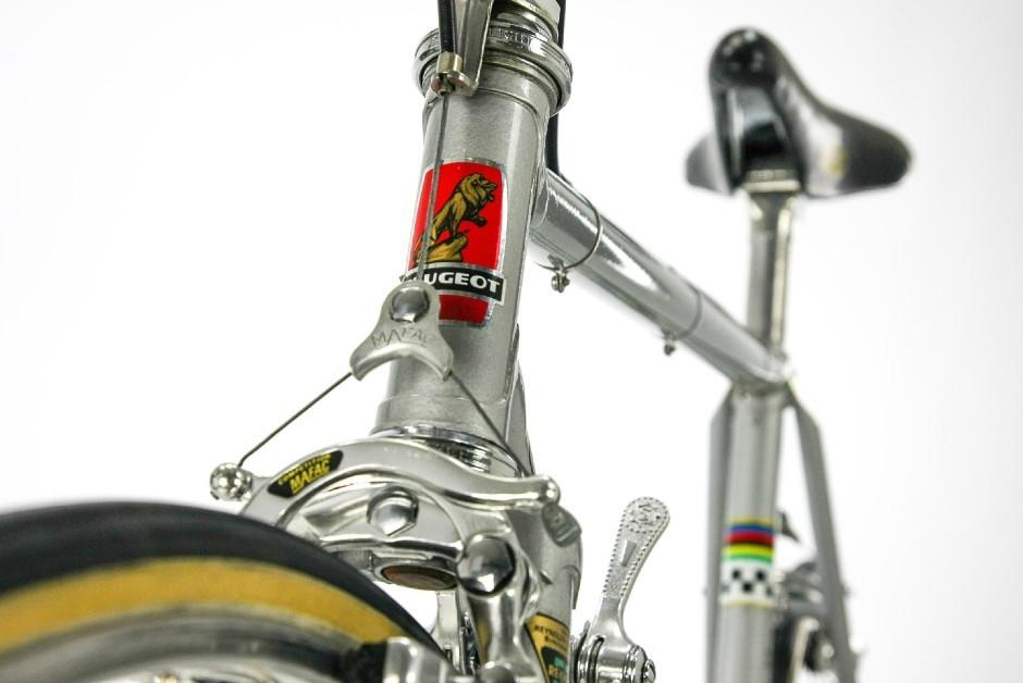 Bicicletas Peugeot nacionais carregavam o mesmo logotipo do leão utilizado nos automóveis da marca  (Foto: Divulgação/Peugeot Cycles)