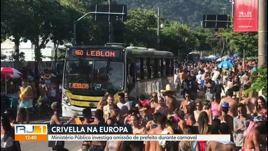 MP investiga omissão do prefeito Marcelo Crivella durante o carnaval do Rio