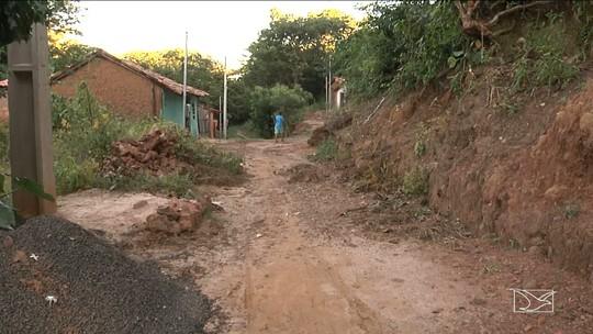 Famílias estão preocupadas com casas em áreas de risco no Maranhão