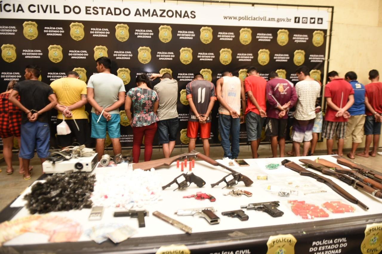 Em seis meses, 1.175 armas de fogo são apreendidas em Manaus - Notícias - Plantão Diário