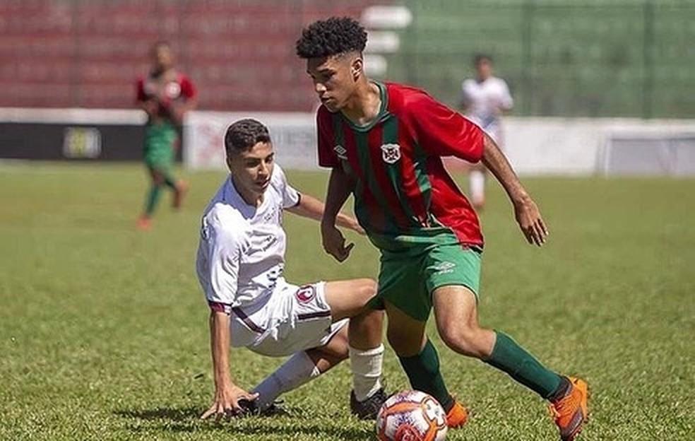 André Lucas, novo atacante do Sub-17 do Fluminense — Foto: Divulgação / Instagram André Lucas