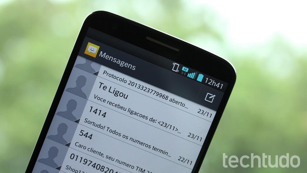 SMS caiu em desuso após a chegada do WhatsApp — Foto: Luciana Maline/TechTudo