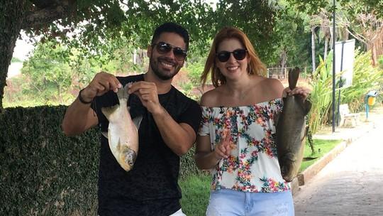 Soraya Castelo Branco revela que tinha hábito de pescar com a família