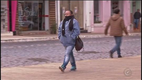 Massa de ar frio derruba temperaturas e Itararé registra - 0,1°C, afirma o Ciiagro