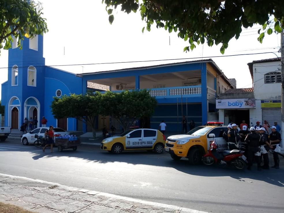 Operação Locafraude, do MP, contou com apoio de PMs no interior do RN — Foto: Maria Helena Silva
