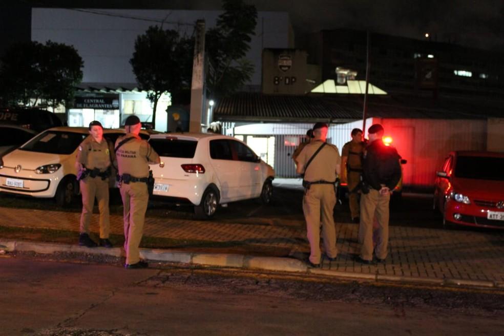 Rebelião aconteceu na madrugada desta terça-feira (7) — Foto: Tony Mattoso/RPC