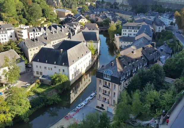 Com pouco mais de 600 mil habitantes, Luxemburgo é uma das nações mais ricas da Europa (Foto: Pixabay)