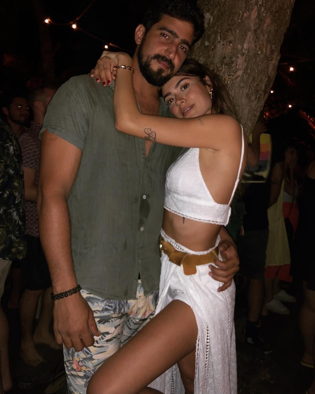 Renato Goes e Thaila Ayala (Foto: Reprodução Instagram)