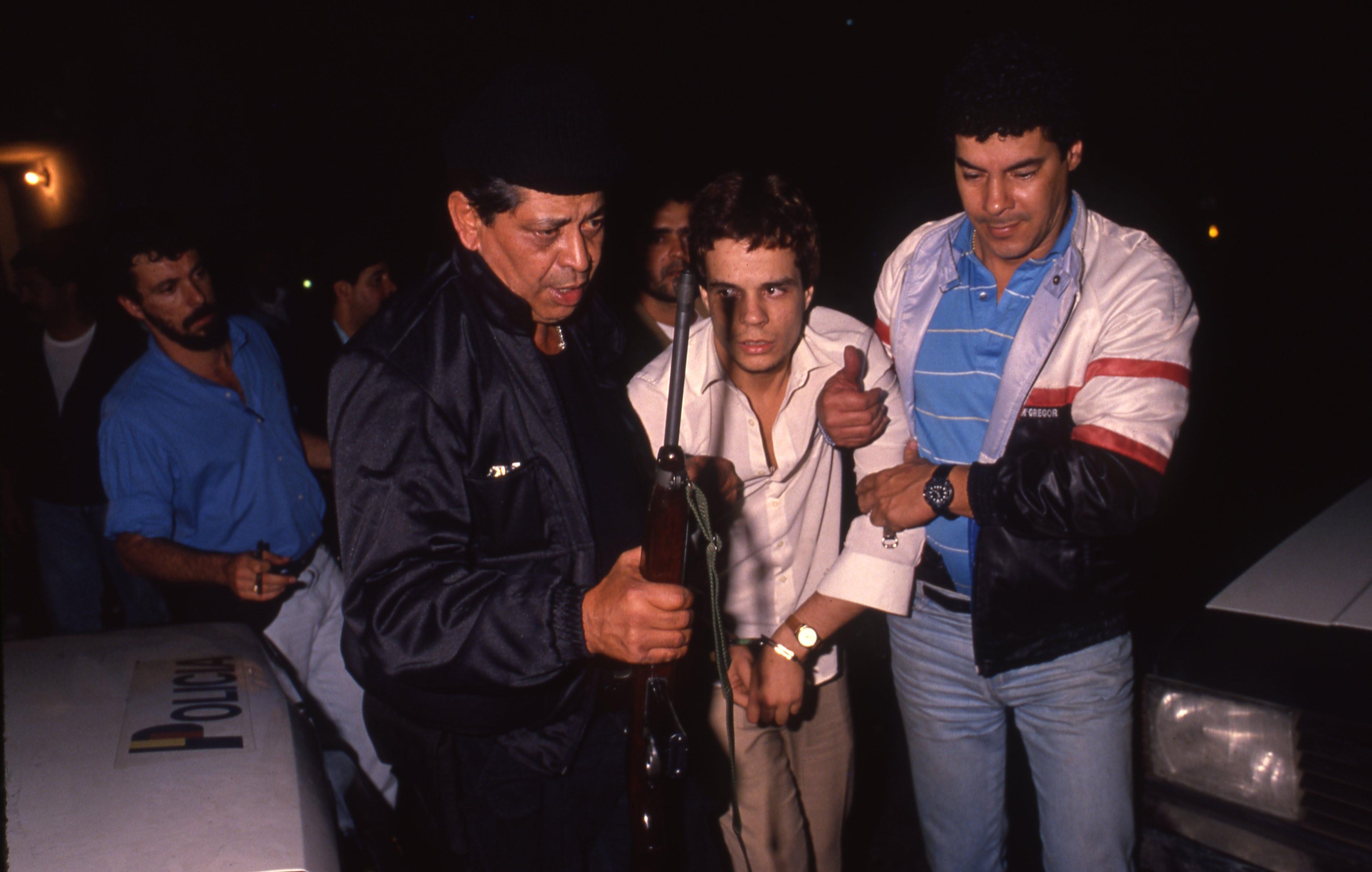 O assaltante Mauro Luiz Domingos Gonçalves de Oliveira (Maurinho Branco) foi preso na Glória