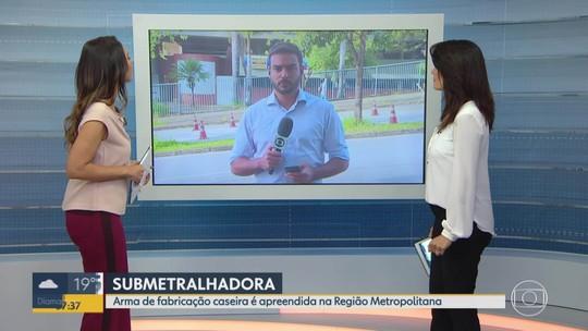 PM apreende armas na Região Metropolitana de Belo Horizonte