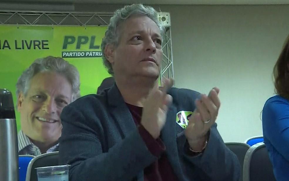 João Goulart Filho, candidato a presidente pelo PPL — Foto: GloboNews/Reprodução