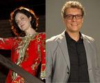 Bianca Byington e Marcelo Airoldi: série no GNT | Marcos Ramos e João Cotta/TV Globo