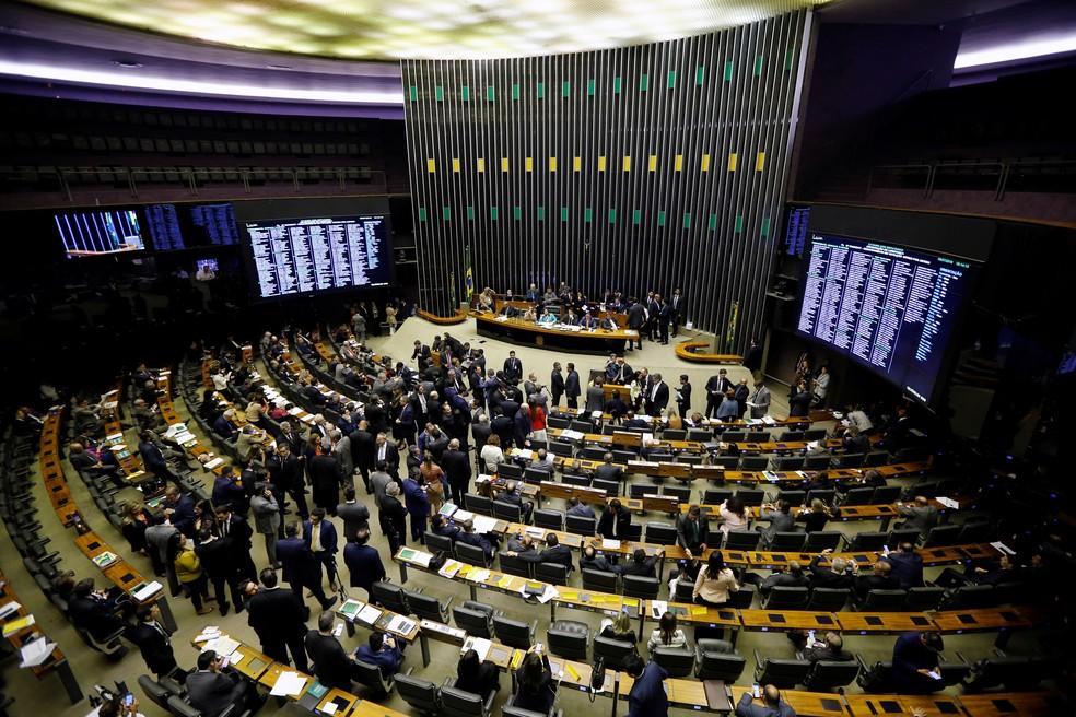 Plenário da Câmara dos Deputados — Foto: Reuters/Adriano Machado