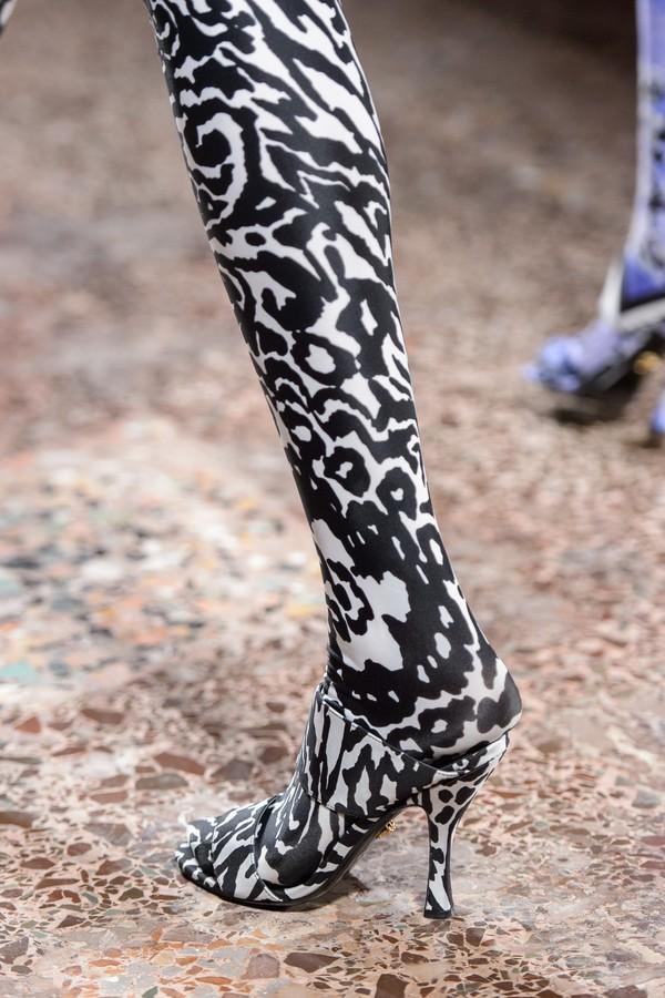 Versace inverno 2019 (Foto: Imaxtree)