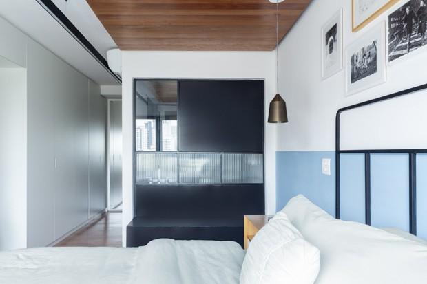 Tons pastel colorem apartamento de 80 m² (Foto: Pedro Napolitano Prata)