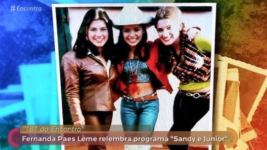 Fernanda Paes Leme fala sobre possível retorno de Sandy & Junior: 'As pessoas estão me pedindo convite'