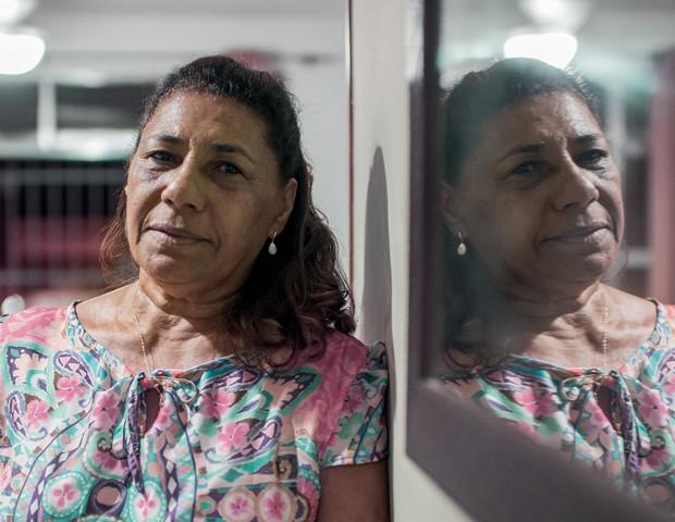 Marinete da SIlva,  mãe de Marielle (Foto: Lucas Landau)